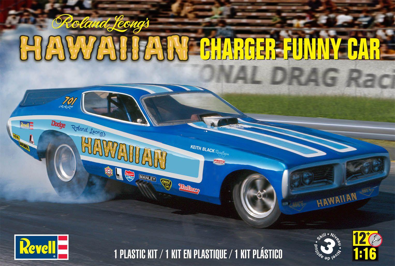 Hawaiian Charger NHRA® Funny Car Plastic Model Kit FROM