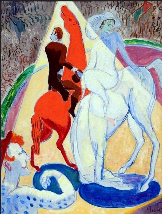 CIRCUS by Isaac Grunewald (1889~1946)