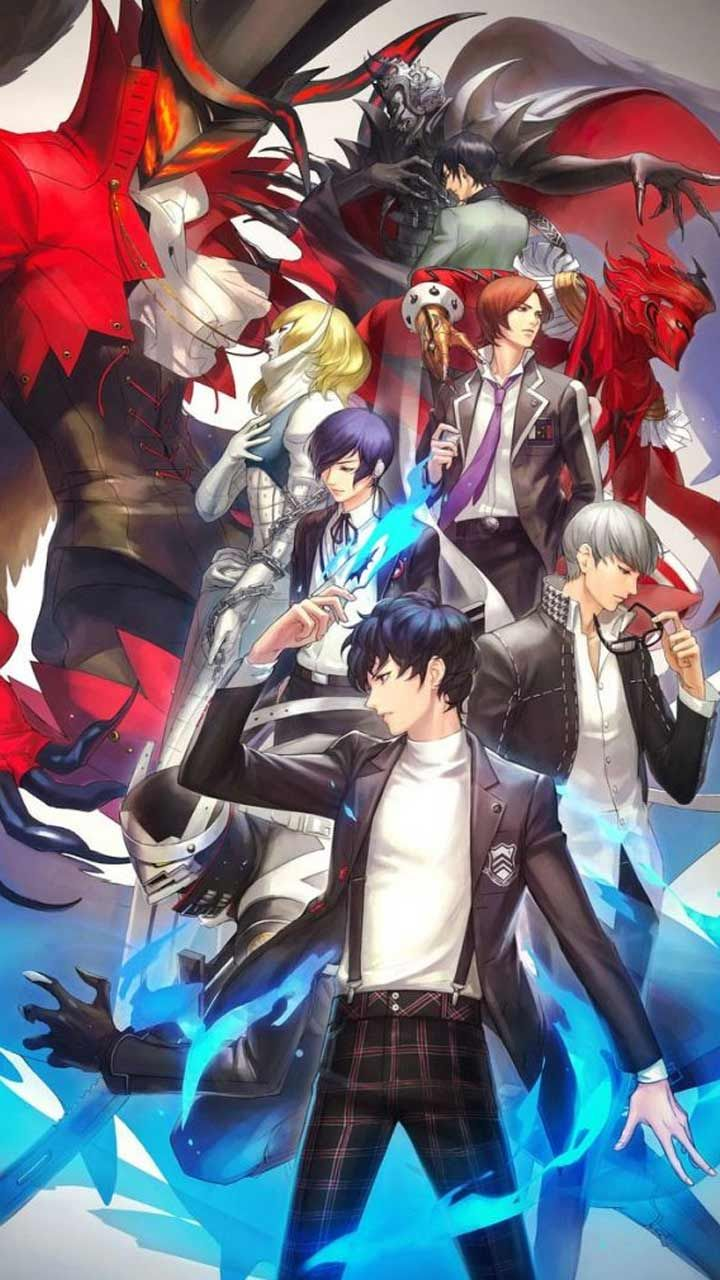 Persona 5 Royal wallpaper HD phone backgrounds Characters