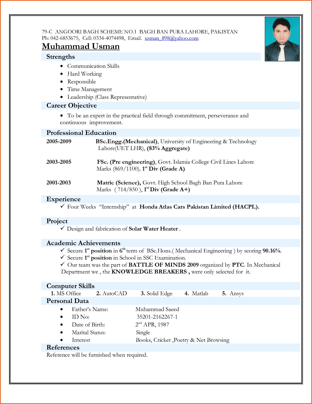Example Of An Objective On A Resume Fascinating Cctv Engineer Resume Sample Security Samples Wonderful Electrical .