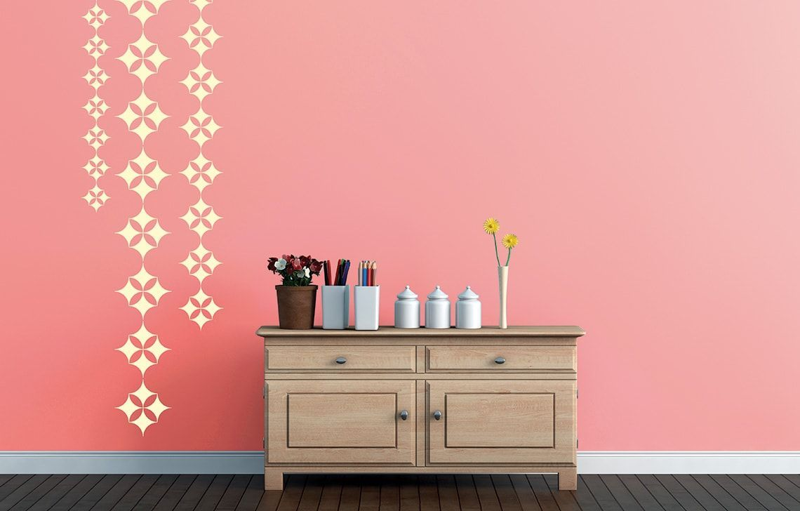 Image Result For Diy Wall Painting Red Mountains Wall Paint Designs Asian Paints Home Wall Painting