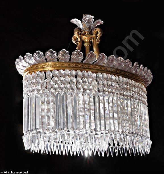 Baccarat oval Chandelier Chandeliers and Lamps Pinterest