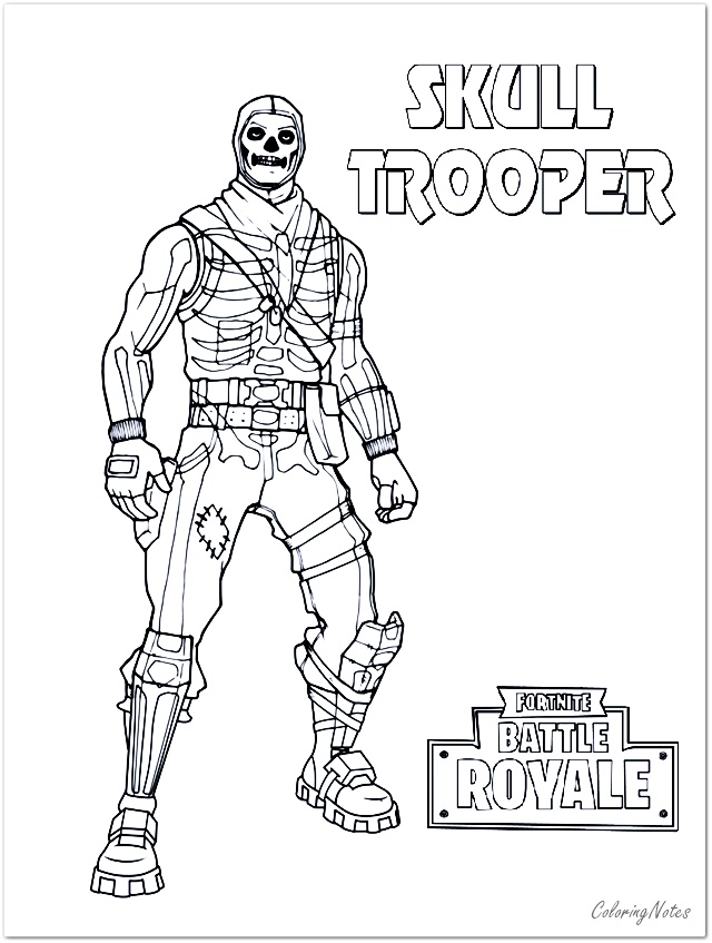 Fortnite Coloring Pages Skull Trooper Coloring Pages For Boys Mermaid Coloring Pages Coloring Pages