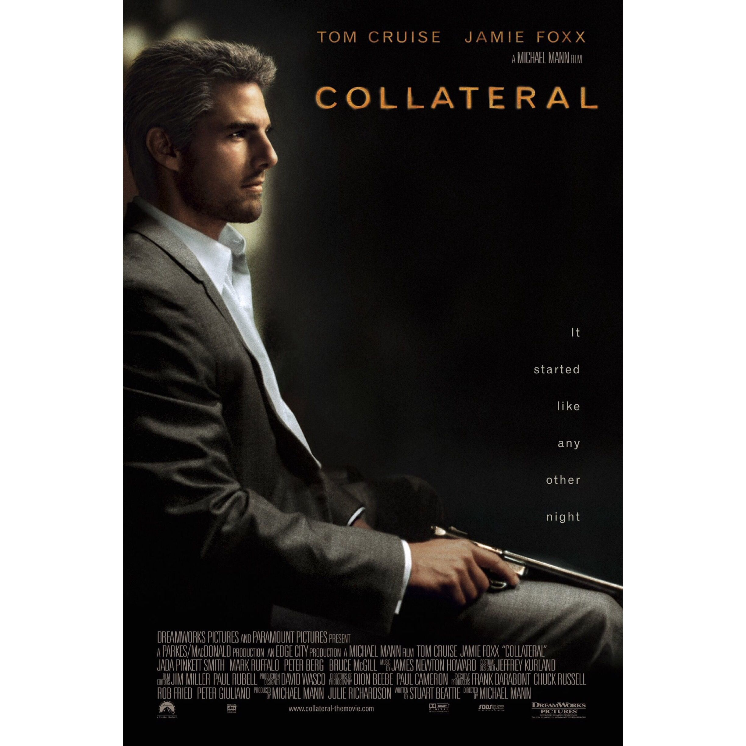 Review Collateral Collateral film, Tom cruise