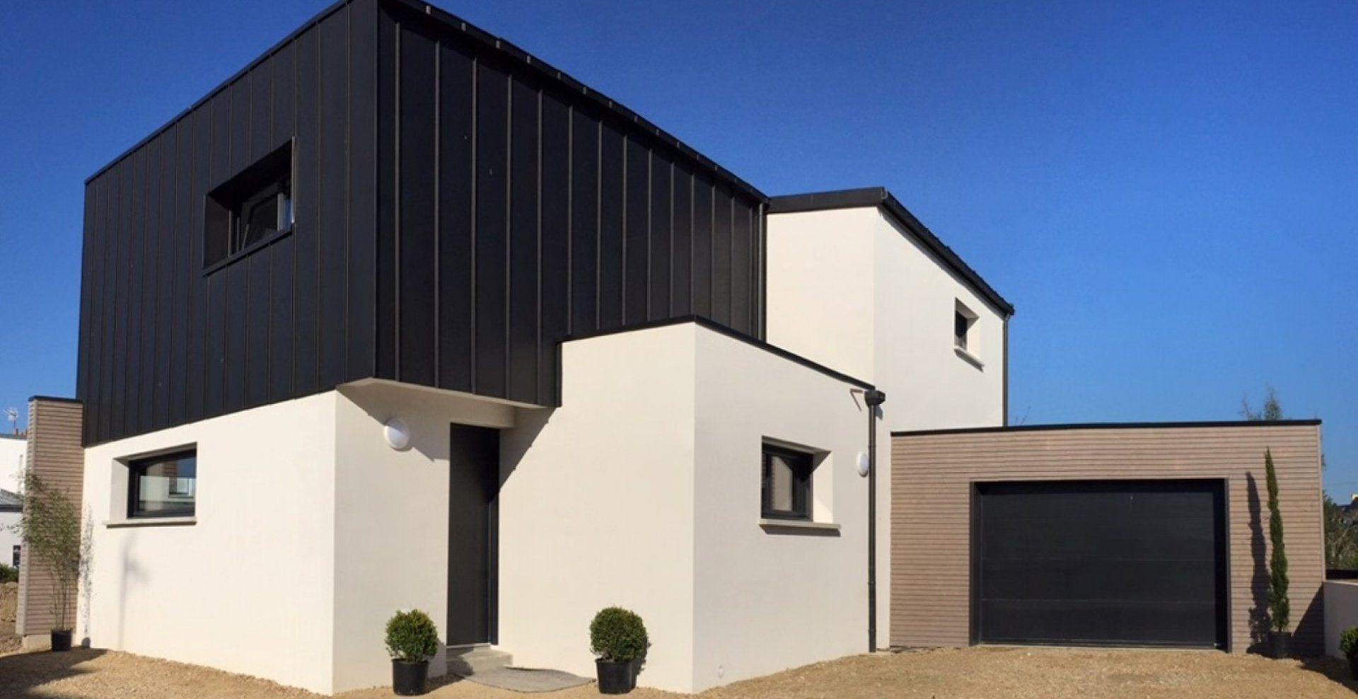 Constructeur Maison Architecture Cubique Et Contemporaine Prix Construction Maison Plan Maison Contemporaine Construction Maison