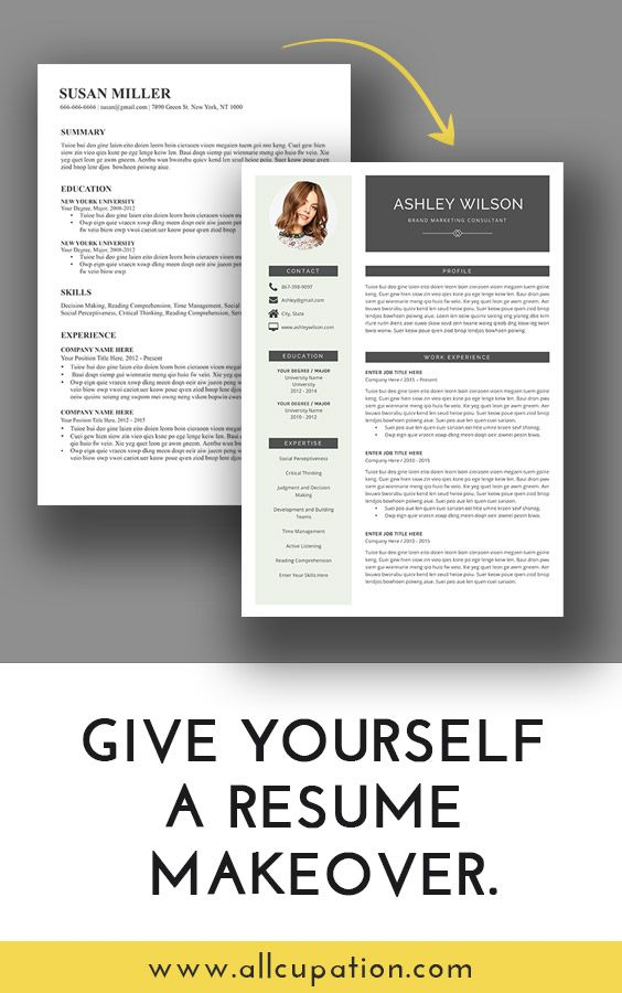 give resume makeover visit free template for promotion within company sample same police