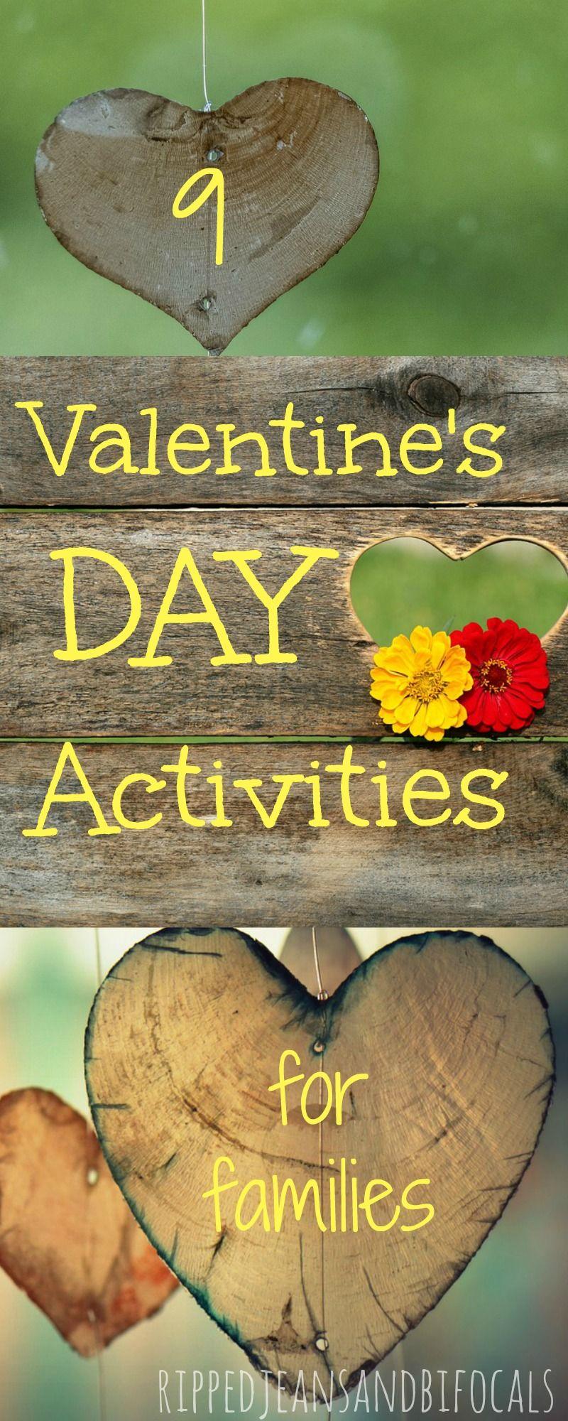 Romantic valentine day activities