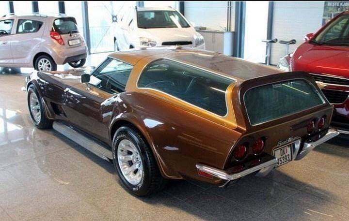 71 Corvette Sportwagon Custom Muscle Cars Sports Wagon Corvette