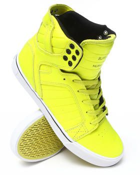 Love this Skytop Fluorescent Yellow Duct Tape TUF Sneaker... on DrJays.  Take a look and get 20% off your next order! 6a7bb8cda