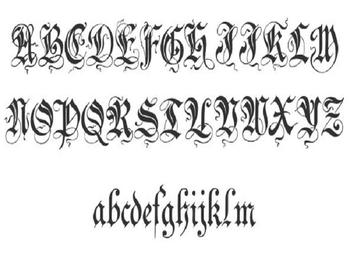 17 Best images about Cursive Tattoo Fonts on Pinterest | Fonts ...