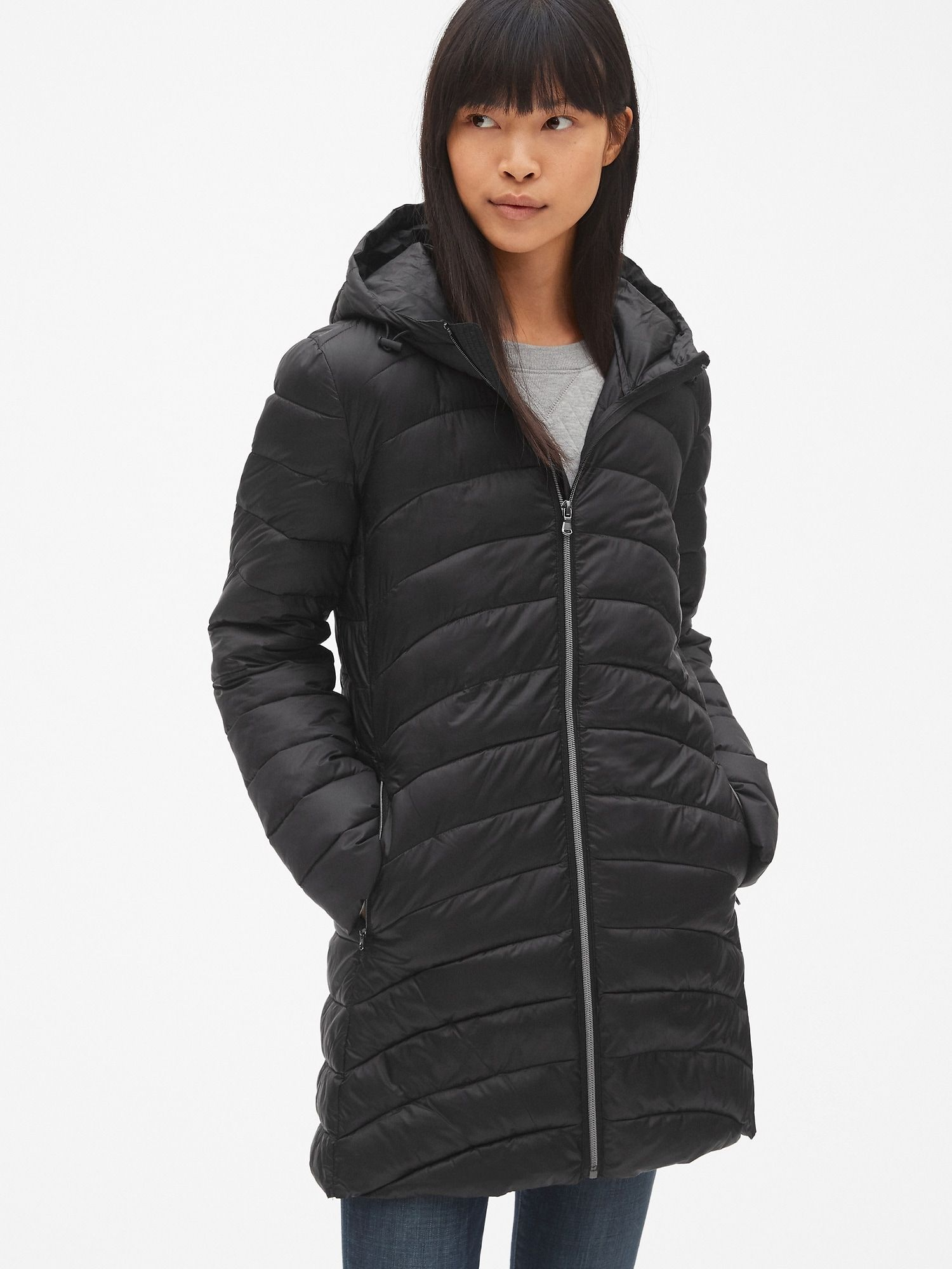 fcbf7939b ColdControl Lightweight Hooded Puffer Coat | Gap | Outerwear ...