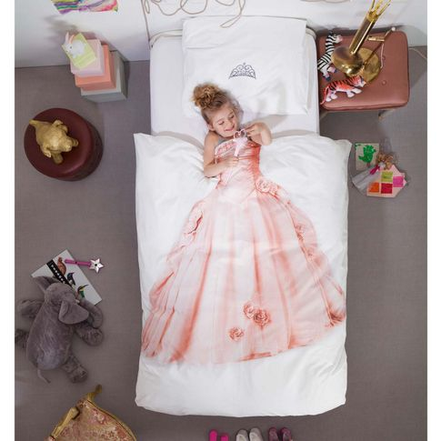 Bettwäsche Prinzessin - would be cute for the doll's beds.