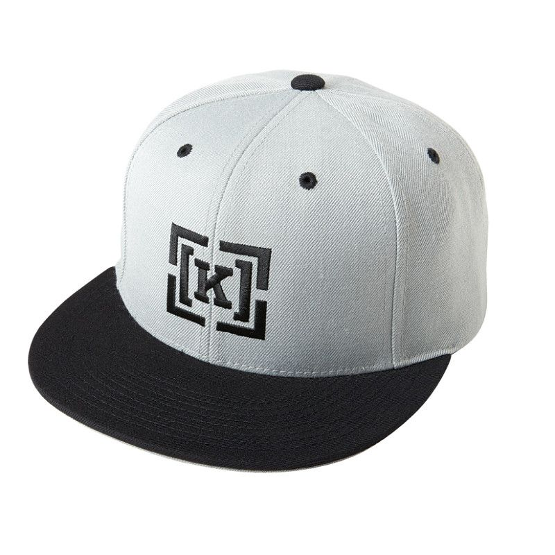 6ac83736c00bf2 The Krew Bracket Snap Classic Snapback Fit. Black Top Brim With Grey  Underside. 80% Acrylic, 20% Wool KR3W KLIPS: LAS VEGAS from KR3W DENIM on  Vimeo.