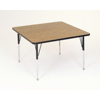 "Correll, Inc. 36"" Square Activity Table"