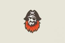 Pirate Red Beard Logo Beard Logo Cartoon Logo Red Beard