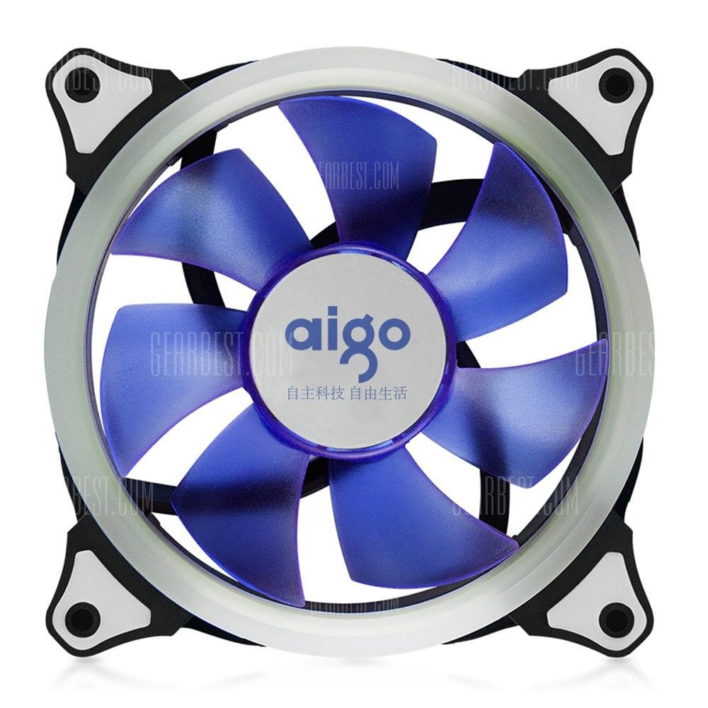 Aigo 12cm Computer Case Cooler With Led Light For Pc Shoproads