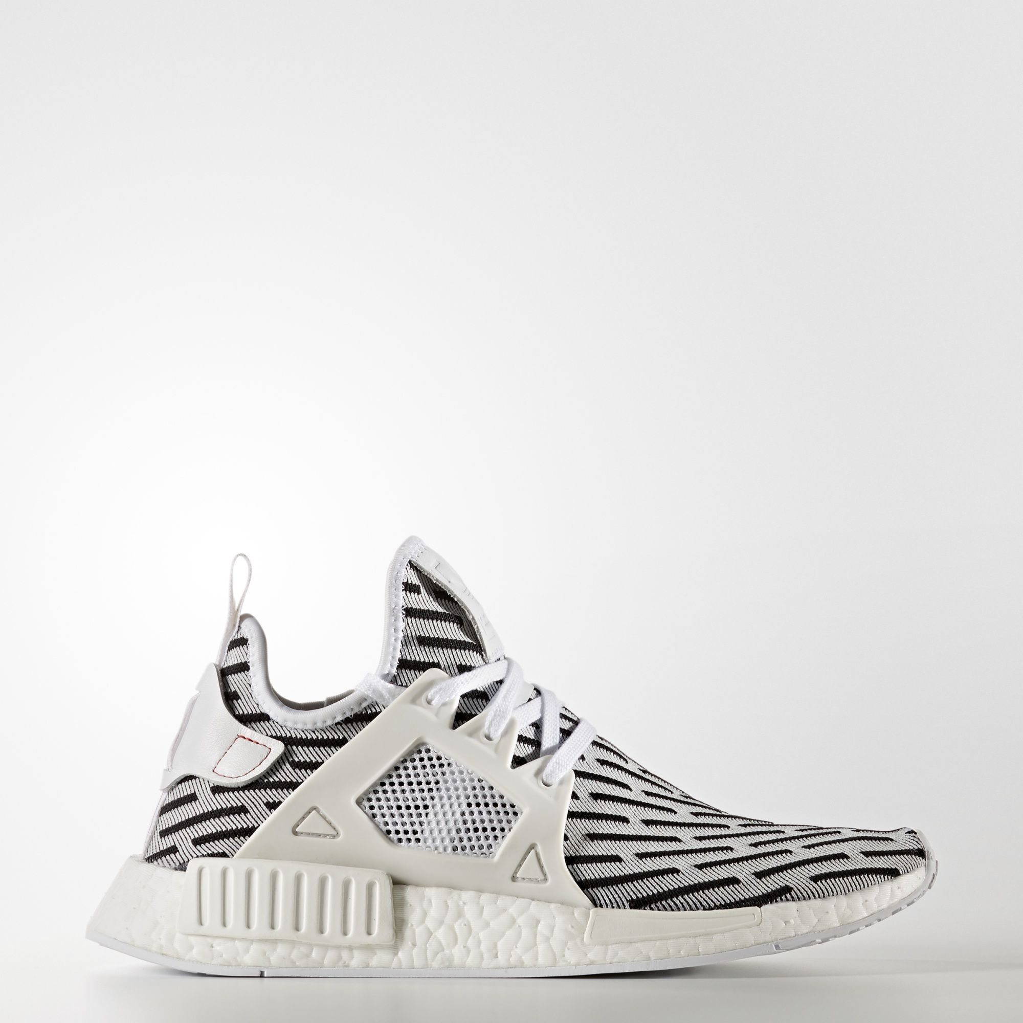 adidas - NMD_XR1 Primeknit Shoes Running White Ftw / Running White Ftw /  Core Red BB2911