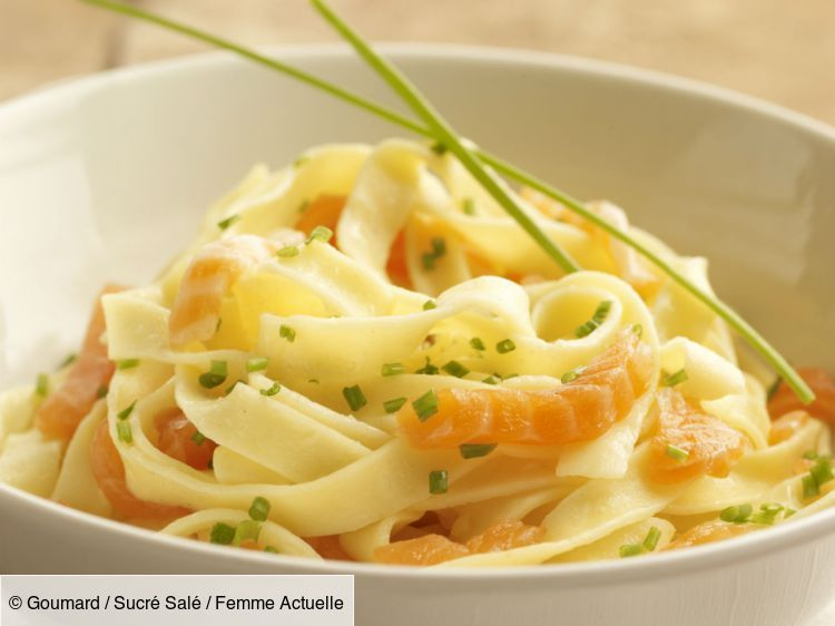 Photo of Cold tagliatelle with salmon and feta: discover the …