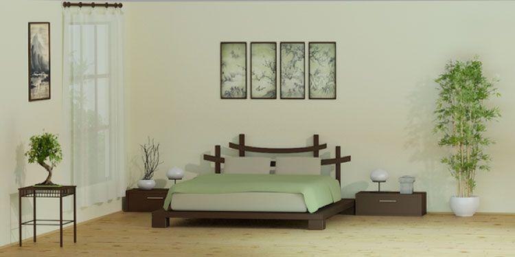 Camera da letto in stile zen n.05 | bedroom | Pinterest | Bedrooms ...