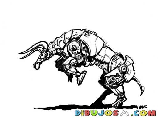 transformer bull | COLOREAR DIBUJOS VARIOS | TORO TRANSFORMER DIBUJO ...