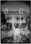3.  Historic American Buildings Survey Lester Jones, Photographer February 28, 1940 SOUTH ELEVATION (FRONT) - Melrose Plantation, State Highway 119, Melrose, Natchitoches Parish, LA