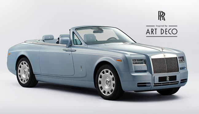 Rolls-Royce Inspired by Art Deco.