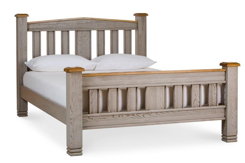 Lancaster Aged Grey Bed Frame 6ft Grey Bed Frame Grey Bedding