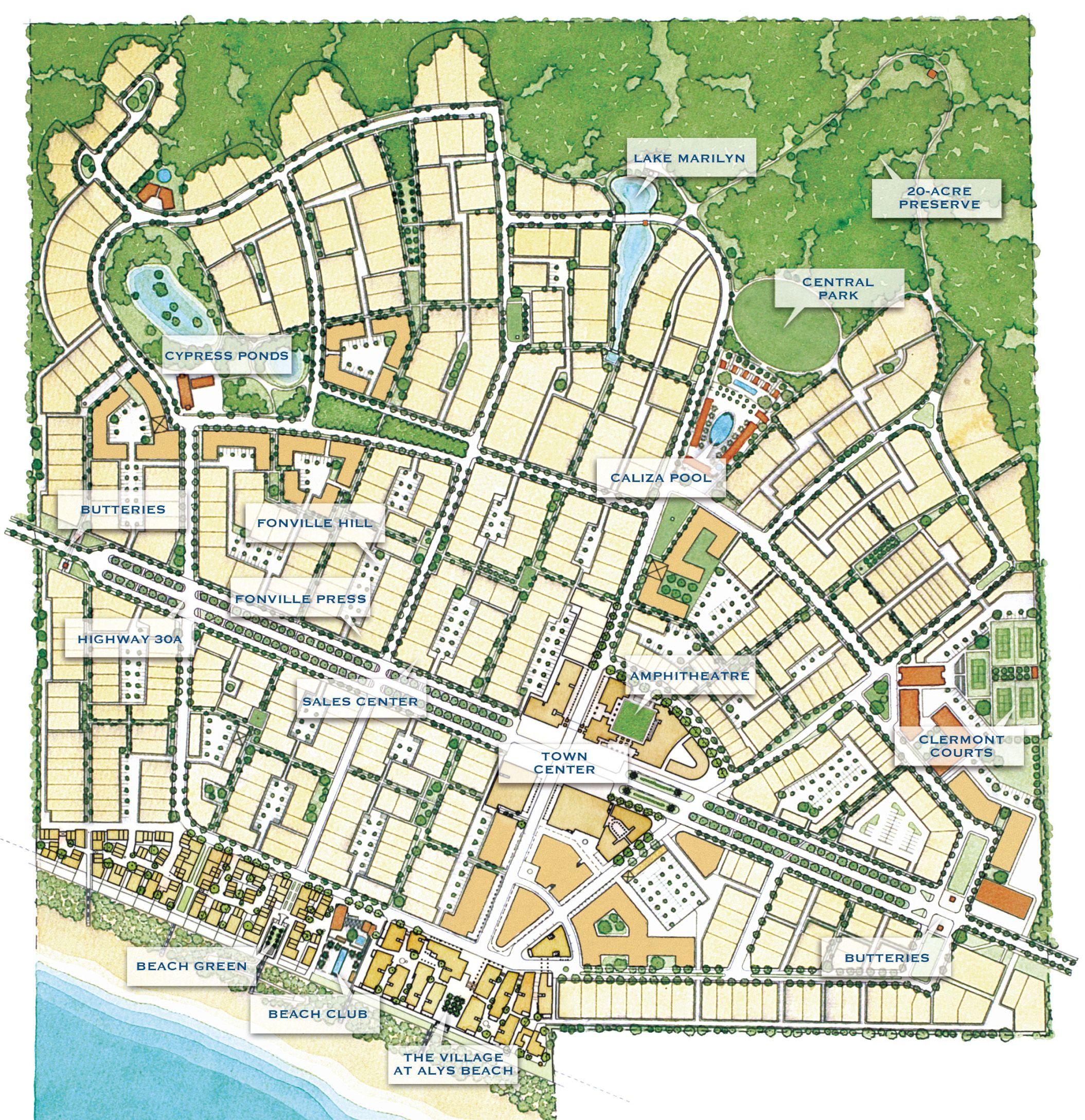 Alys Beach Florida Map The Best Beaches In World