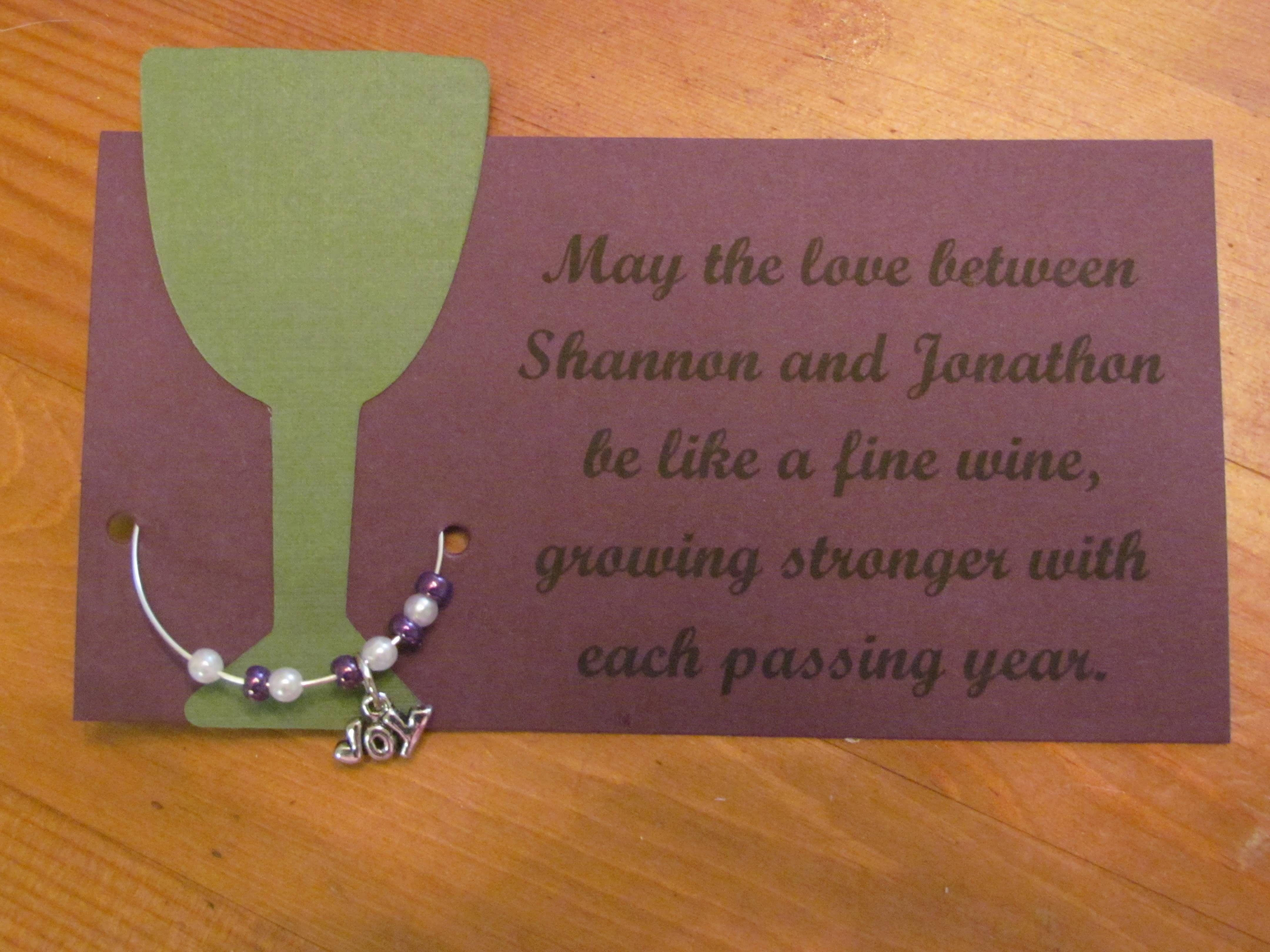 Bridal Shower Wine Poem | Bridal Shower Ideas | Pinterest | Bridal ...