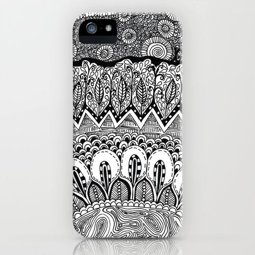 Black And White Doodle Iphone Case Black And White Doodle Diy Phone Case Iphone Cases,Design Your Own Food Packaging