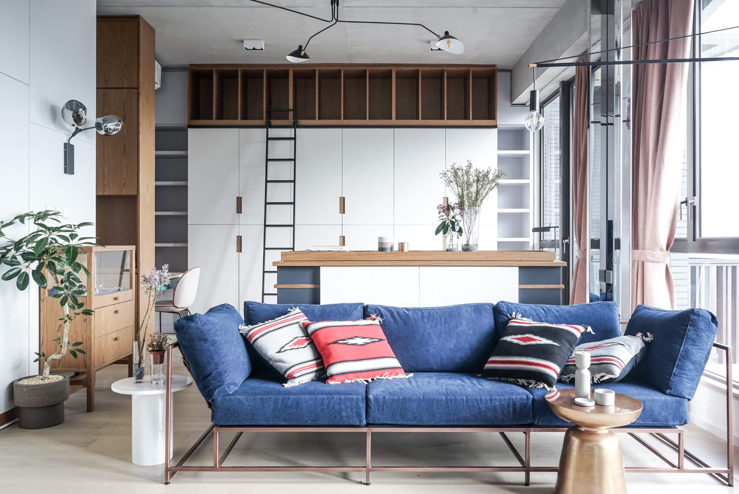 This Studio Apartment is Big in Style Apartment interior