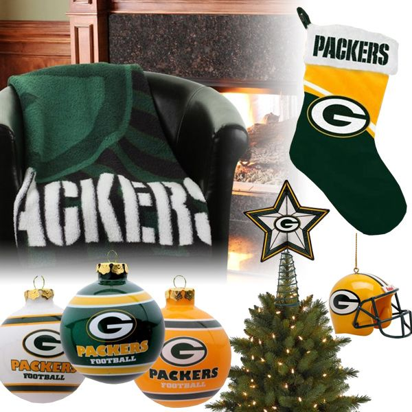 Green Bay Packers Christmas Ornaments, Stocking, Tree Topper, Blanket - Green Bay Packers Christmas Ornaments, Stocking, Tree Topper