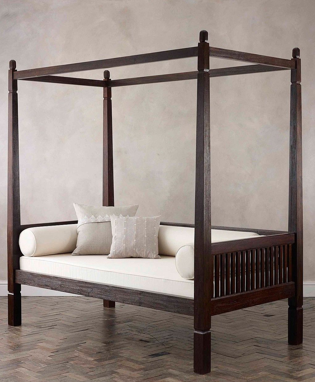 ball end four poster day bed | colorado decor/home | pinterest
