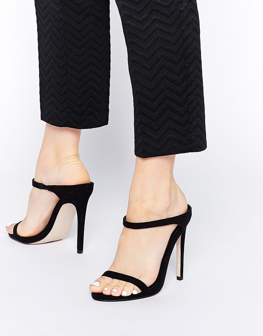 3707d618fbb ASOS HORIZON Heeled Sandals