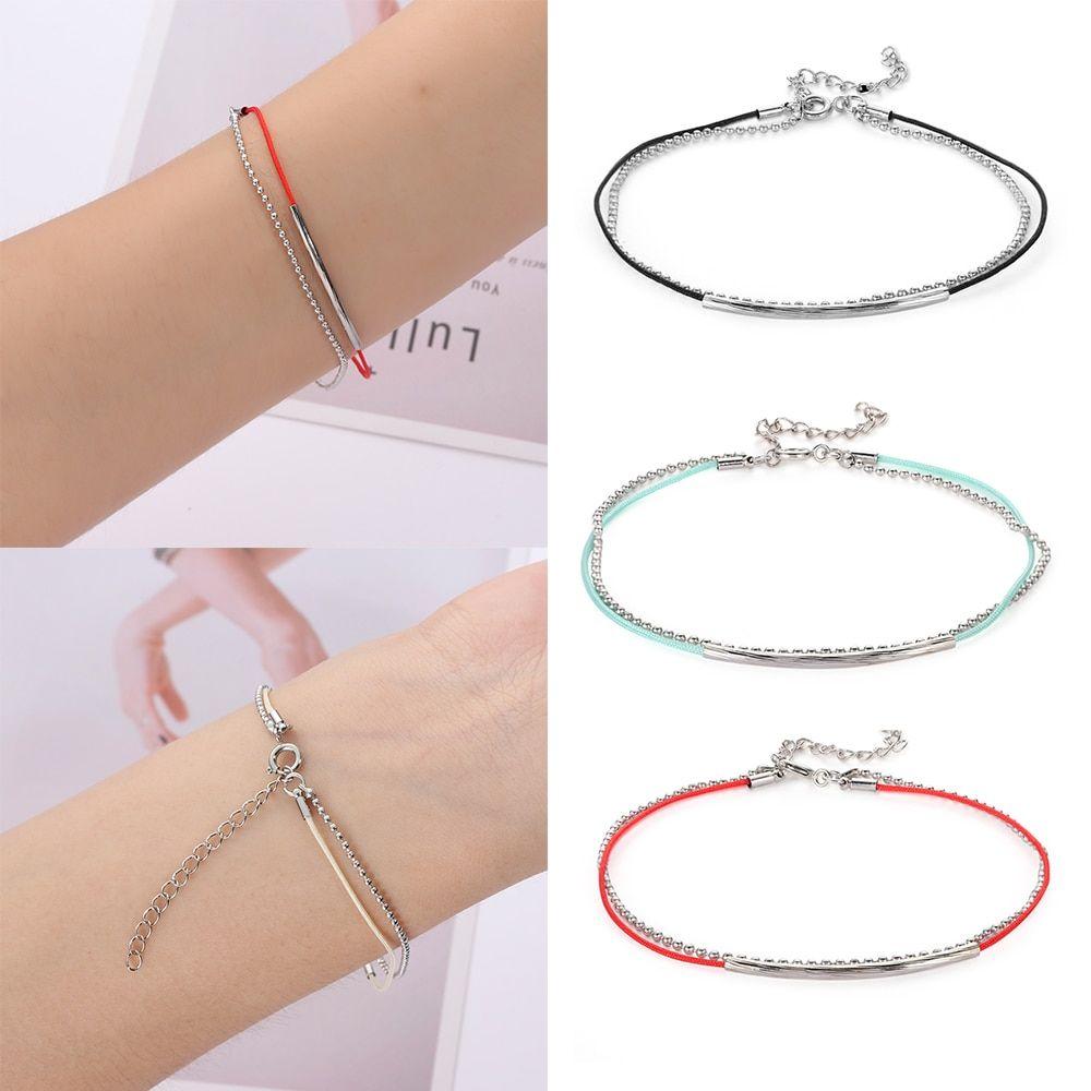 Korea Bangtan Boys Kpop Bts Bracelet Jimin Jungkook V Link Leather Red Rope Charm Bracelets Kpop Jewelry For Women Men Bts Bracelet Jewelry Kpop Women Jewelry