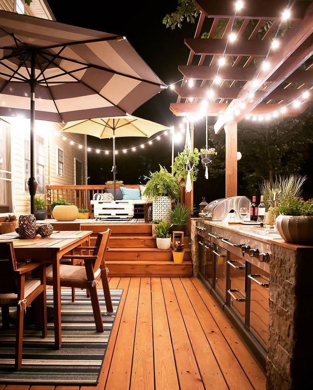 Best Outdoor Kitchen Decor Ideas For Perfect Kitchen 05 In 2020 Outdoor Kitchen Decor Diy Outdoor Kitchen Patio Kitchen