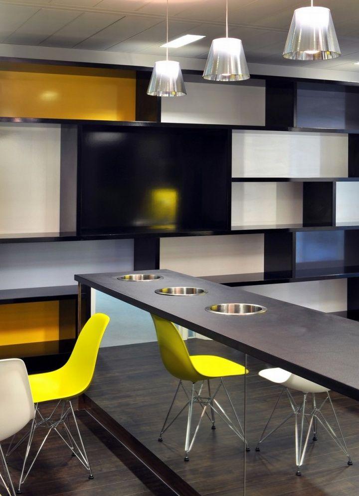 Monitise headquarters by Morgan Lovell, London office design M
