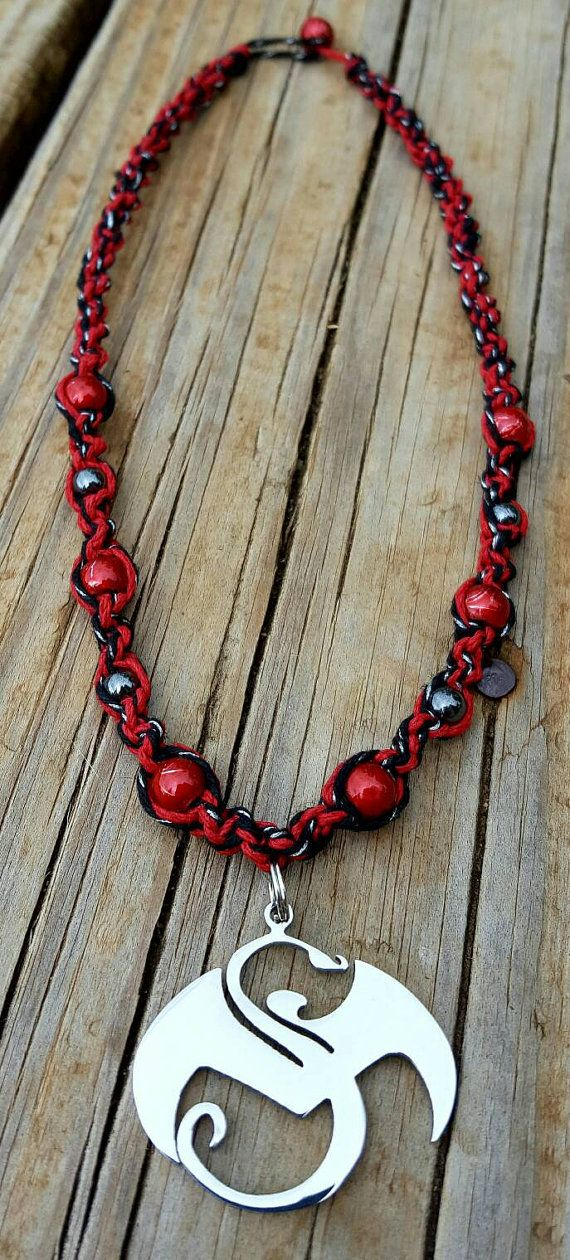 Absolute Power Handmade Strange Music Hemp Necklace Etsy Jewelry The Mad Butterfly