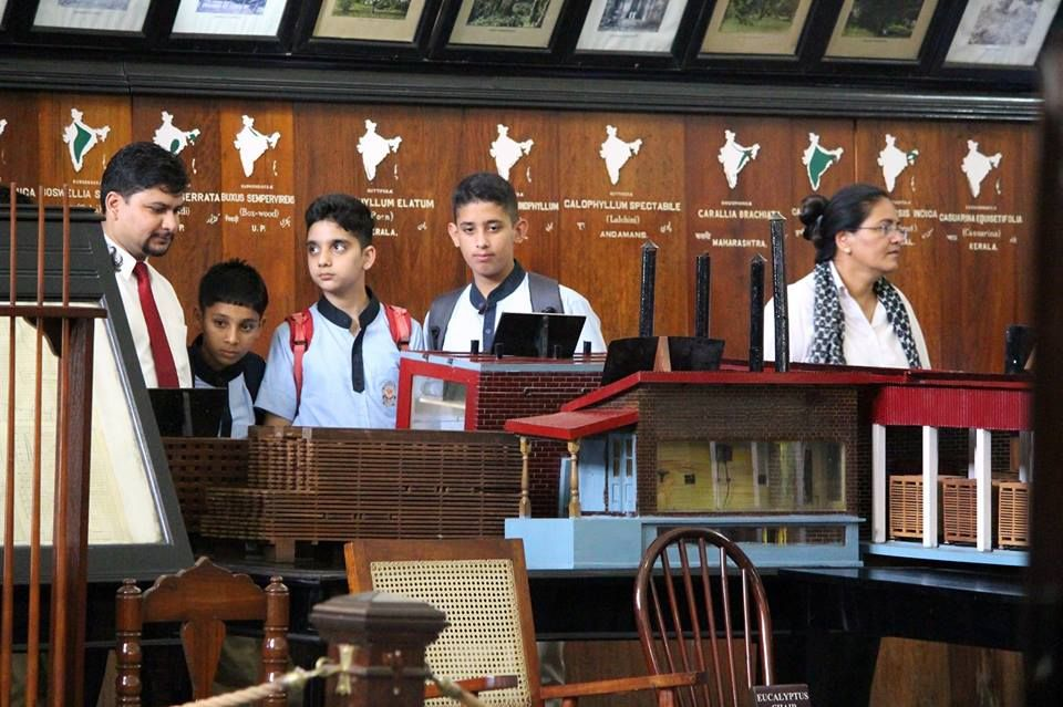 Glimpses of an educational trip to the FOREST RESEARCH INSTITUTE, Dehradun for classes VI to IX. There, the students visited different museums such as SILVICULTURE MUSEUM, TIMBER MUSEUM, NON-WOOD FOREST PRODUCT MUSEUM etc. It was not only a first hand learning experience but also a great exposure for the students.