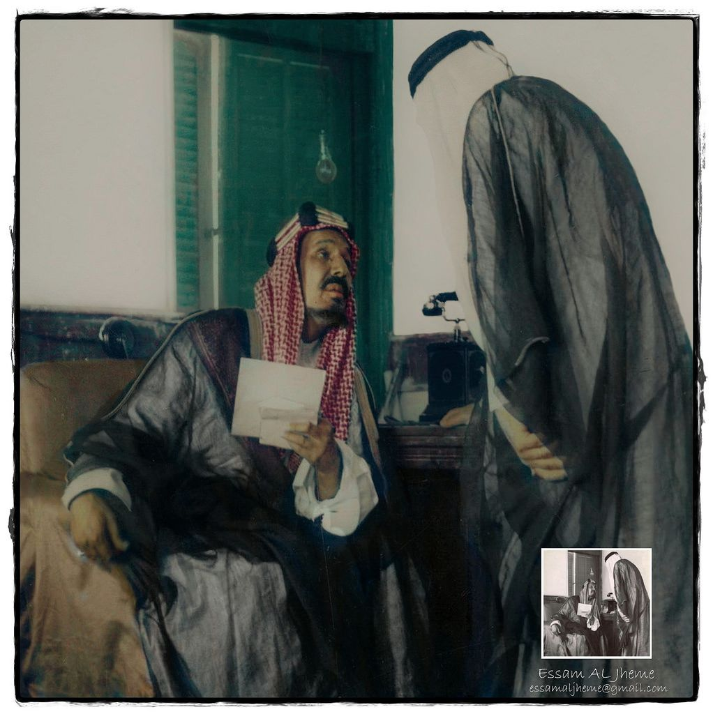 الملك عبدالعزيز بن عبدالرحمن آل سعود Rare Pictures Photo My Images