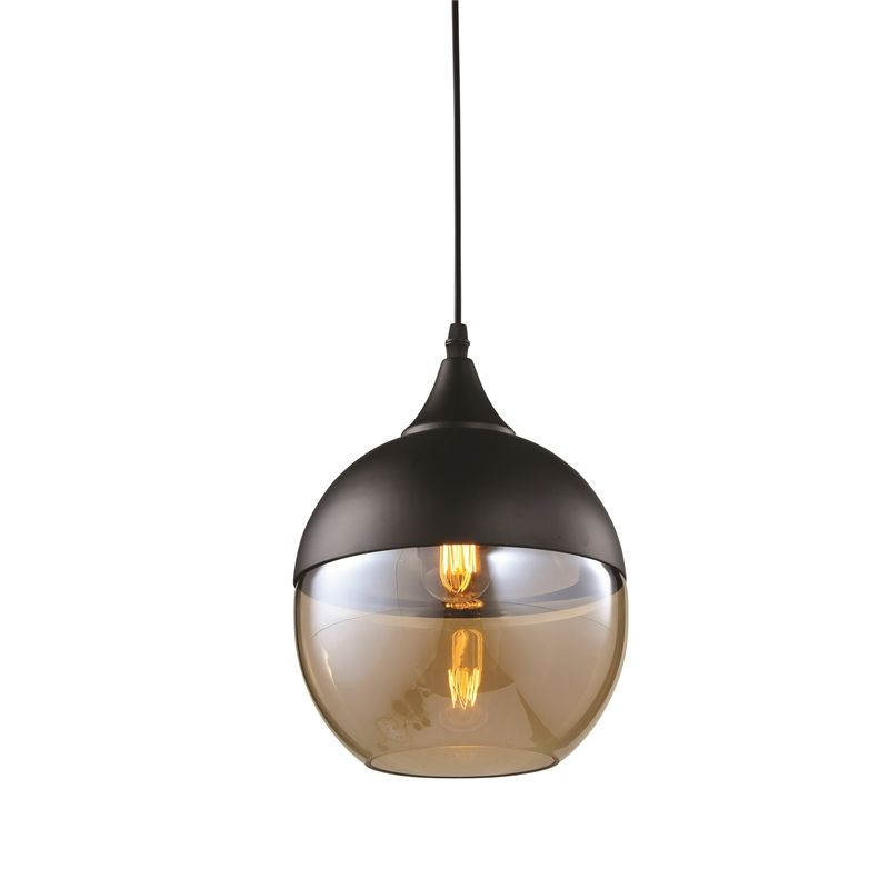 Home Design 20cm 240V Ambra Tondo Light Pendant