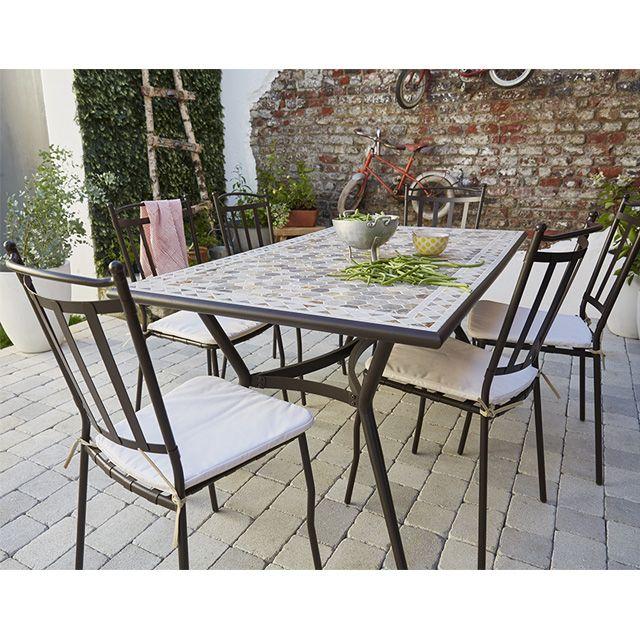 Table Salon De Jardin Castorama Novocom Top
