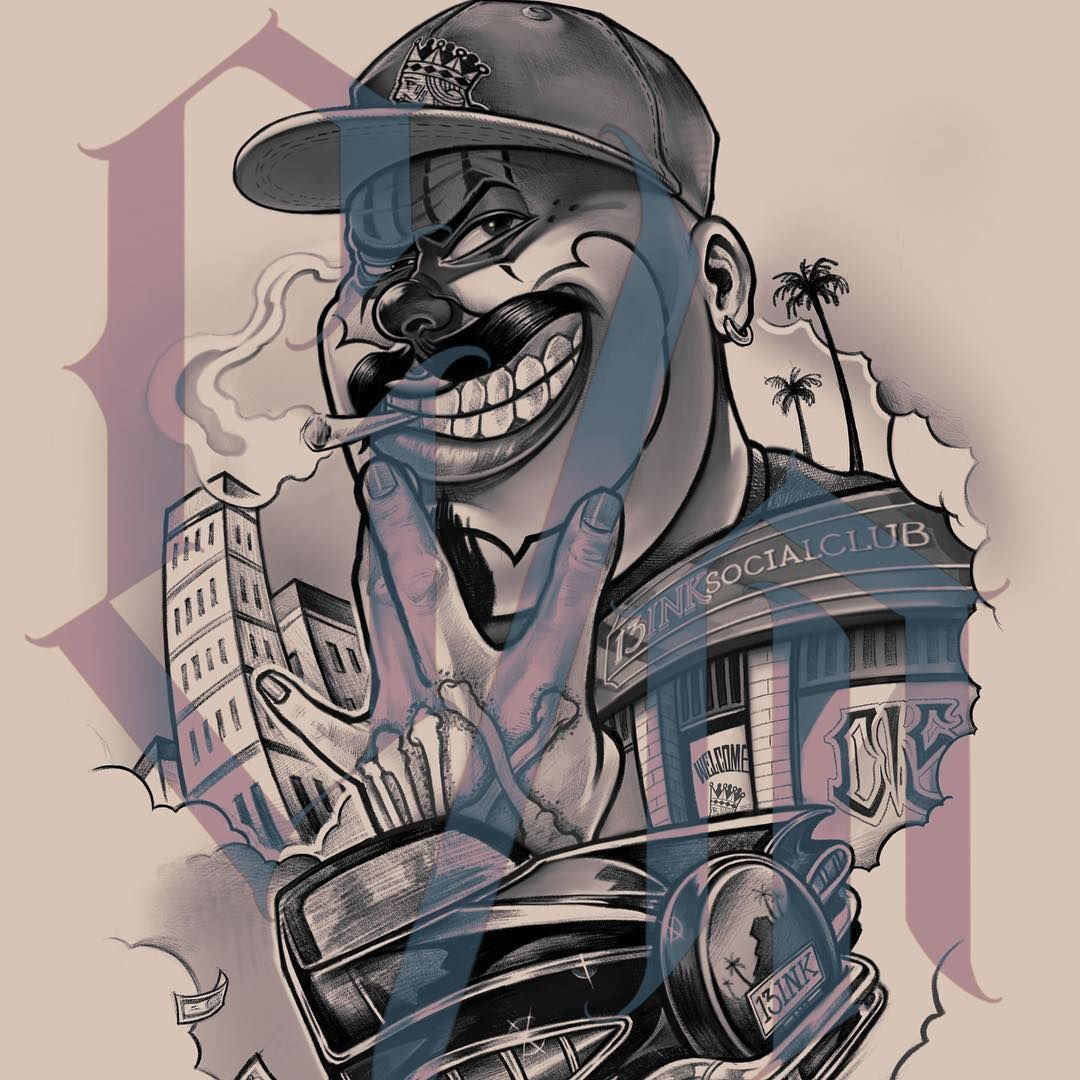 Ct on instagram chicano chicanotattoo chicanosketch