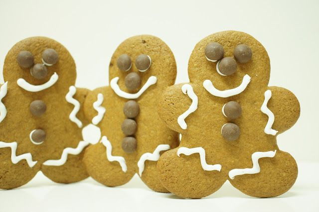 """A culpa é das bolachas!: Bolachas """"Gingerbread Man"""""""