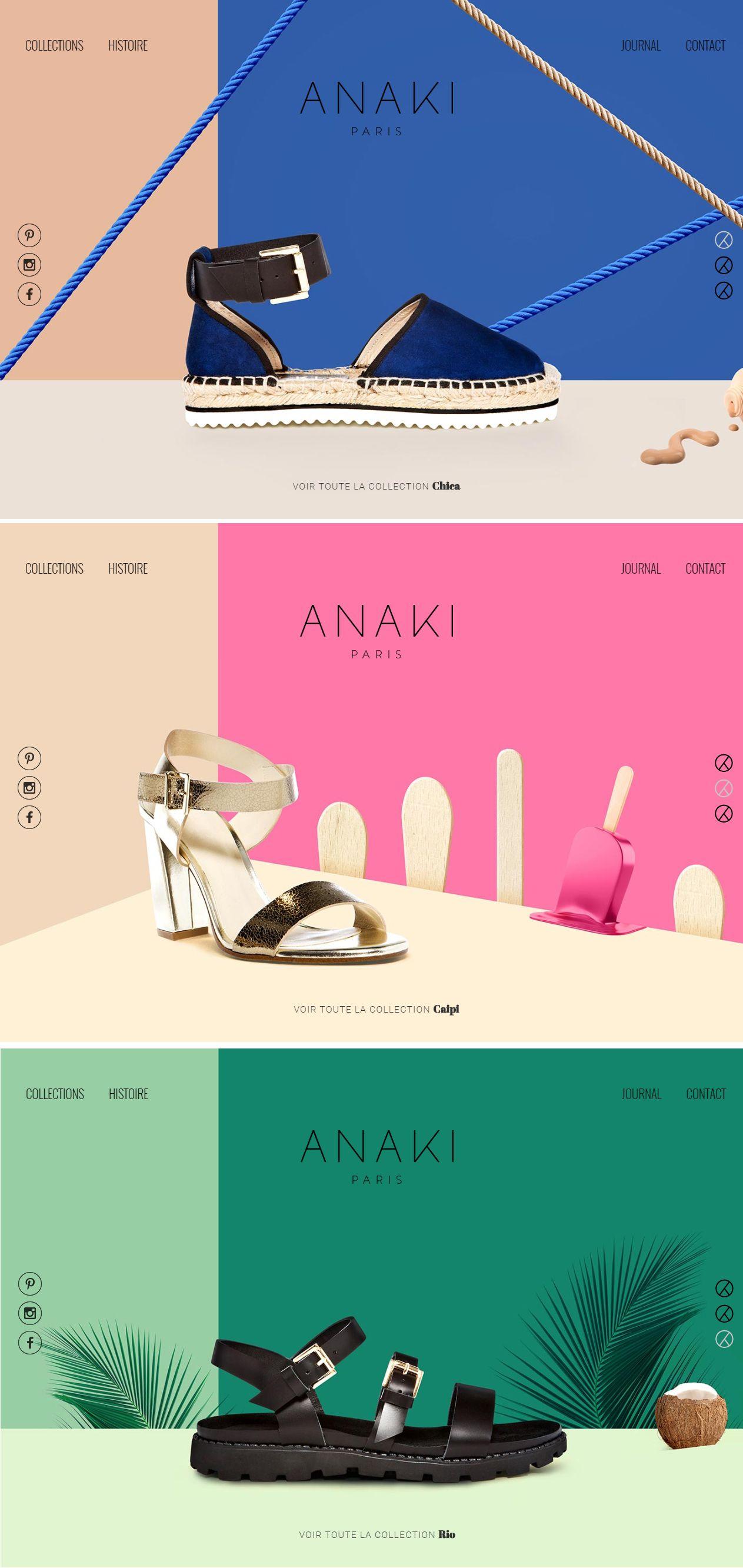 Nouveau website d'Anaki