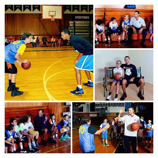 Warriors Youth Basketball Camp: Another Fun Day At Stephen Curry's First Overnight Camp In
