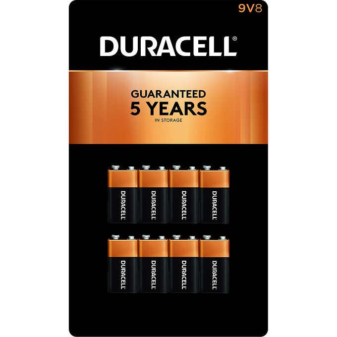 Duracell 9v Alkaline Batteries 8 Count Duracell Duracell 9v Alkaline Battery