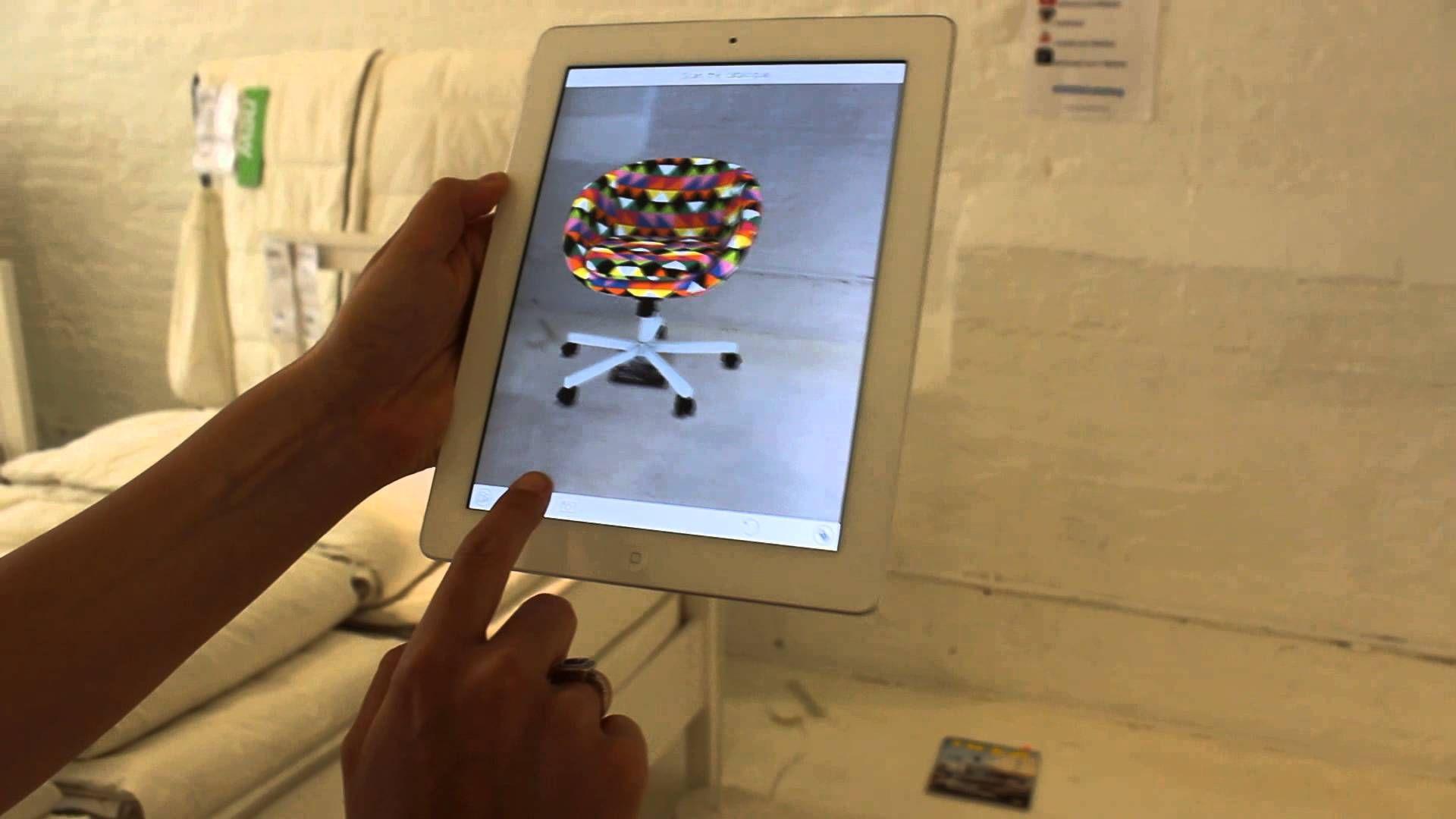 IKEA\u0027s Augmented Reality App | Augmented reality/ realidade ...