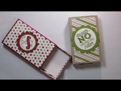Stampin' Up! Envelope Punch Board Matchbox