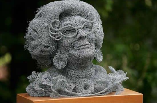 Wire Sculpture.